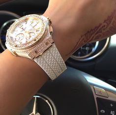 I love it all, the Benz, the tatt, and the watch!