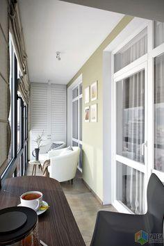 Квартира 45 кв.м. с большой лоджией в современном стиле в ЖК «Западное Кунцево»
