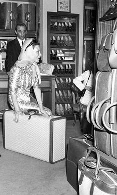 From the archive: Linda Christian Gucci Rome store, 1960s