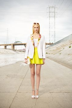 Want this jacket: A.M.-To-P.M. Amazing: Club Monaco Spring '13 Does It All fav from the spring season