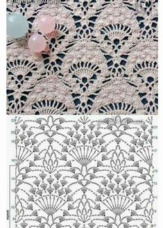 Watch This Video Beauteous Finished Make Crochet Look Like Knitting (the Waistcoat Stitch) Ideas. Amazing Make Crochet Look Like Knitting (the Waistcoat Stitch) Ideas. Crochet Bedspread Pattern, Crochet Fabric, Thread Crochet, Crochet Doilies, Crochet Lace, Crochet Poncho, Crochet Stitches Chart, Crochet Diagram, Crochet Stitches Patterns