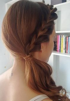 Exclusive Side Braided Pony Hairstyles 2018 for Prom