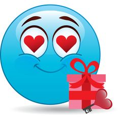 Love gift smiley
