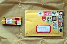 Snail Mail Love // Dawn M. Cardona // www.cutpaperpaste.com