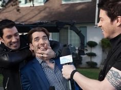 Brother Vs. Brother in Go Behind the Scenes With Property Brothers Drew and Jonathan Scott from HGTV