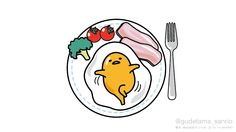 Gudetama breakfast