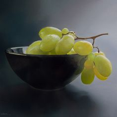 Still-Life With Grapes by ~Lefthand666 on deviantART  (oil on canvas)