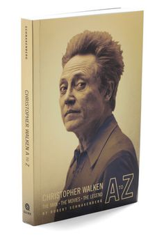 Christopher Walken A to Z. If youre looking for some life inspiration, pick up this paperback and admire the life of Christopher Walken, who, as well as being a revered actor, has been a dancer, a baker, and a lion tamer! #modcloth