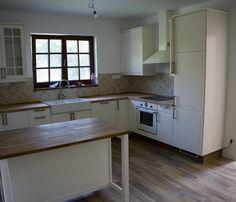 Diy Kitchen Storage, Ikea, Kitchen Cabinets, Home Decor, Decoration Home, Ikea Co, Room Decor, Cabinets, Home Interior Design