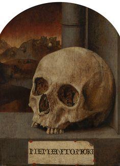 Anonymous (Southern Netherlands), Vanitas Still Life, c. Memento Mori Art, Dracula, Art Deco Diamond, Diamond Brooch, Medieval Art, Vanitas, Dark Fantasy Art, Skull And Bones, Religious Art