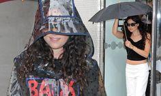 Rain sends Doolittle dotty. Pop star Eliza takes shelter under granny-style plastic hood