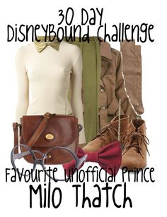 """""""DisneyBound Challenge - Favourite Unofficial Prince"""" by invadergarb ❤ liked on Polyvore featuring Neiman Marcus, Jonathan Saunders, Chanel, The Bridge and Smash Vintage"""