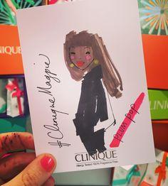 By http://www.instagram.com/miss_magpie_spy / #cliniquemagpie #CliniqueCoventGarden