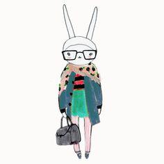 3 Things. #nerd specs #Chloe bag, #technicolour shoes.