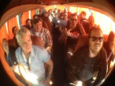 tutti i protagonisti in autobus  #italialovesemilia