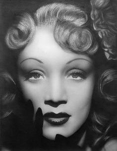 Marlene Dietrich. She was an openly bisexual actress in the 1930s.