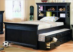 beds with storage space - Google Search