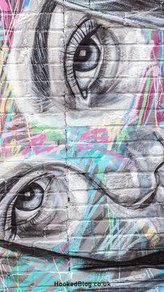 Inka Williams Mural painted in London by Street Artist Ant Carver. #streetart #mural #graffiti Inka Williams, Commercial Street, Street Mural, A Level Art, London Street, East London, Street Artists, Urban Art, Ants