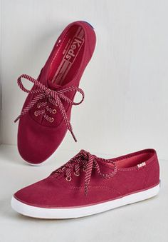 cute red Keds