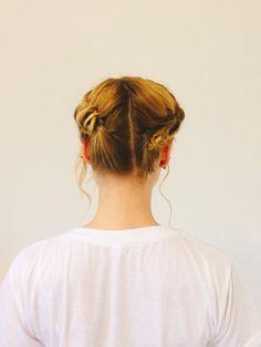 Dirndl Frisur / Wiesn Hairstyling / Oktoberfest / Braided Hair / Alina Spiegel / bayrisches Madl