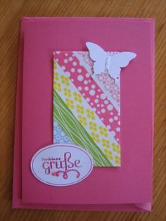 Card with Washi Tape