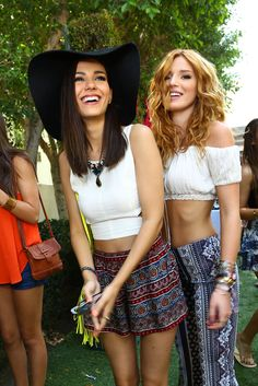 Bella Thorne with Hannah Simone and Victoria Justice | Fashion event in Palm Springs