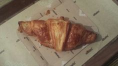 Croissant with Nutella!