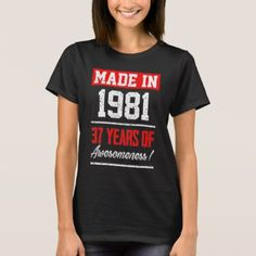 #Perfect Gift For 37th Birthday. T-Shirt Ideas. - #birthday #gifts #giftideas #present #party