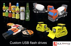 Lets create a custom USB flash drive that shows who you are and what you do. Very reasonably priced and delivered 3 weeks after proof approval. Let's Create, Product Ideas, 3 Weeks, Usb Flash Drive, Toys, Gaming, Games, Usb Drive
