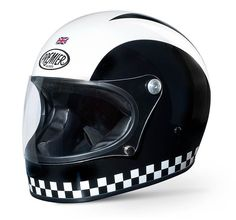 """PREMIER Trophy retro full face helmet- design """"Retro"""". Very original vintage full face helmet that has been on the market about 40 years ago and which is now re-produced."""