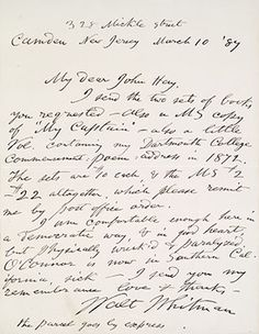 handwritten cover letters