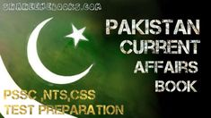 Pakistan Current Affairs Book | NTS Preparation What Is Css, Increase Knowledge, General Knowledge Book, Test Preparation, Affair, Pakistan, Education, Reading, Books