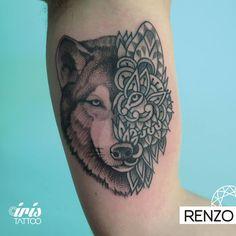 #iristattoo #tattoo #tattooart #tattooart #tattooartist #ink #palermo #palermotattoo #tattoopalermo #buenosaires #buenosairestattoo #tattoobuenosaires #ink #blackwork #dotwork #creativetattoo #wolf #wolftattoo