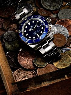 Rolex Submariner: If it's good enough for James Bond, it's good enough for me.
