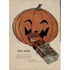 Dying for Chocolate: Halloween Vintage Candy Ads