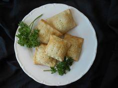 Mi mundo pinkcake: Cuadrados de espinaca, jamón y queso crema