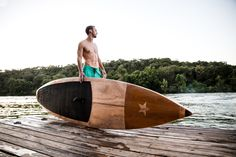 Limited edition Texas themed SUP made by Jarvis Boards.