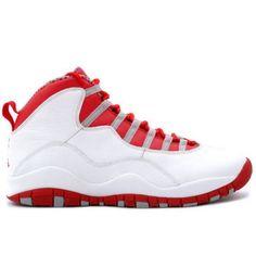 the latest aafe4 1da60 Air Jordan Retro 10 gs wht red gry 310806-161 Zapatos, Jordan 10,