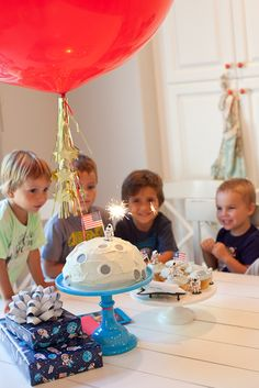 just wanted to share a few highlights from jack's astronaut party.turning four is one small step for man, but one giant party for mankind. ...