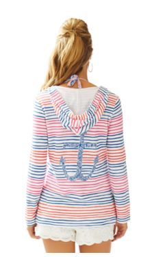 Higgs Hooded Tunic Cover-Up - Lilly Pulitzer