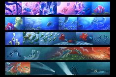 Finding Nemo Colourscripts