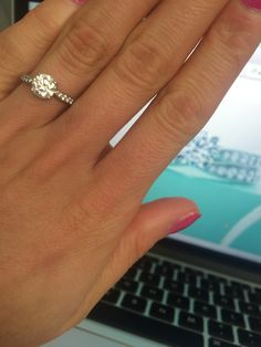 My Tiffany harmony engagement ring Fashion Pinterest