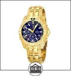 FESTINA F16119/2 - Reloj de caballero de cuarzo, correa de acero inoxidable color oro (con alarma) de  ✿ Relojes para hombre - (Gama media/alta) ✿
