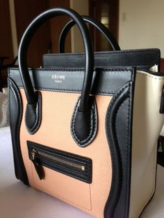 Tri color leather tote...Very Nice