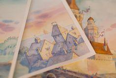 Watercolor Tale Illustrations by Tetiana Kartasheva, via Behance - unreal!! So beautiful