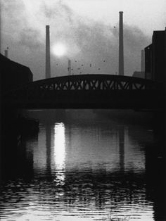 River Irwell, Manchester 1966, by Shirley Baker