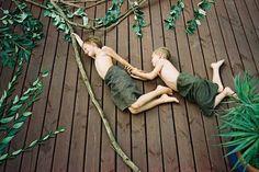 lol - fun photo shoots w/ kids - fake scenes