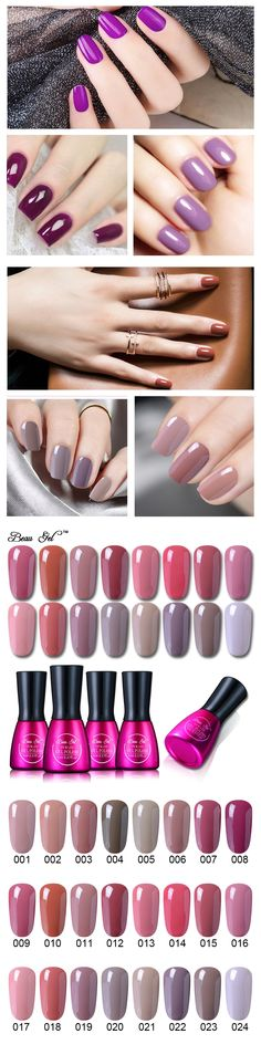 New Beau Gel UV Gel Nail Polish Nude Color Series UV Nail Gel Varnish Long Lasting Soak off Nail Gel Lacquer Polishing for nails