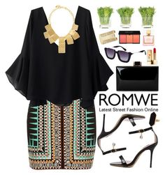"""Romwe"" by oshint ❤ liked on Polyvore featuring River Island, Kenneth Jay Lane, NDI, Yves Saint Laurent, Forever 21, Jaeger, Kate Spade, awesome, pretty and beautiful"