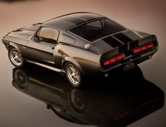 "1967 Ford Mustang Shelby GT500. A true muscle car ""Dream Machine."" ❦"